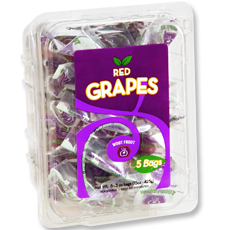 grapes clamshell